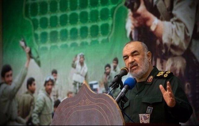 El comandante de la Guardia Revolucionaria iraní, Hosein Salami