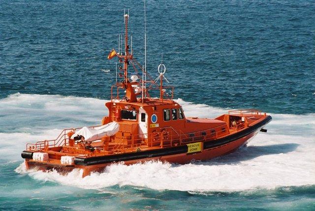Salvamento  Marítimo en una de sus misiones