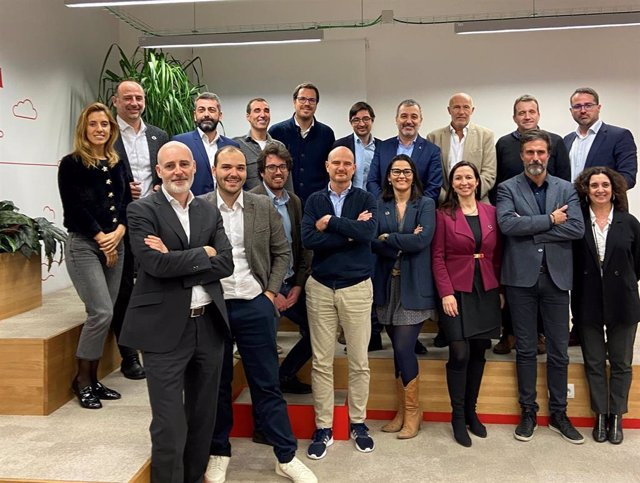 Reunió per a les jornades d'emprenedoria de Barcelona Tech City