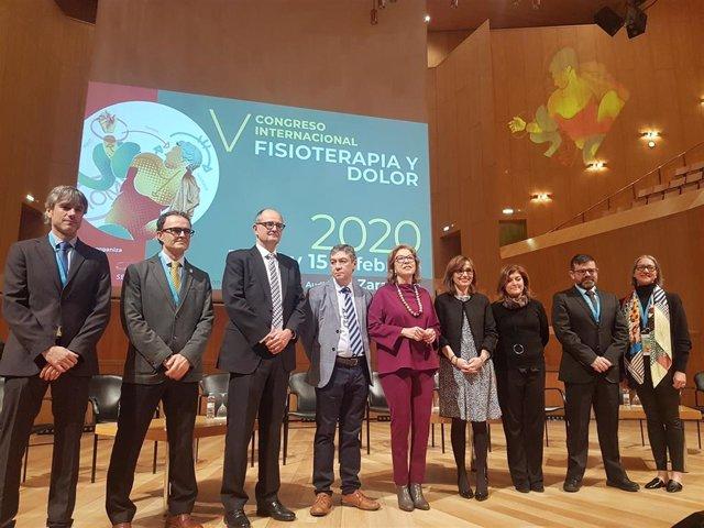 Inauguración del V Congreso Internacional Fisioterapia y Dolor.
