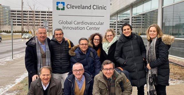 Foto de la delegación española que ha viajado a Estados Unidos