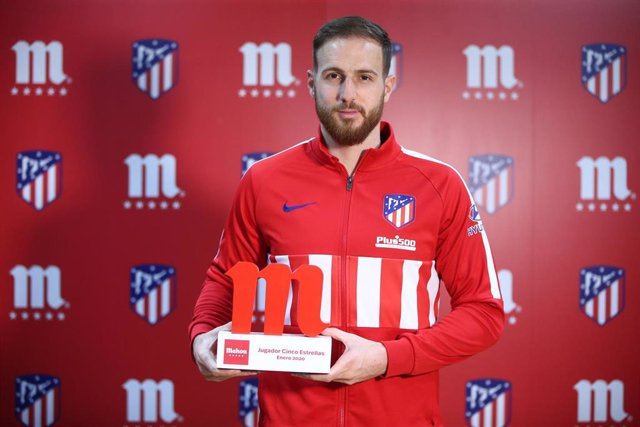 Jan Oblak ha sido elegido el Mejor Jugador por la afición del Atlético de Madrid en el mes de enero
