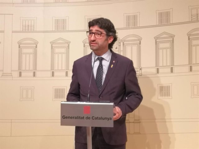 El conseller de Políticas Digitales y Administración Pública de la Generalitat, Jordi Puigneró