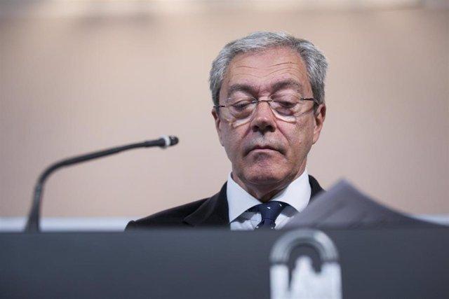Foto de archivo del consejero de Economía, Rogelio Velasco.