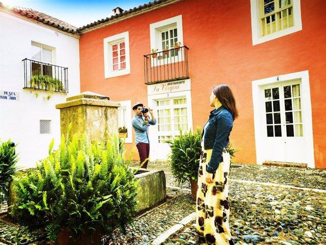 Turistas en una imagen de archivo
