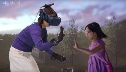 Una madre se 'reúne' con su hija fallecida con 7 años gracias a la realidad virtual