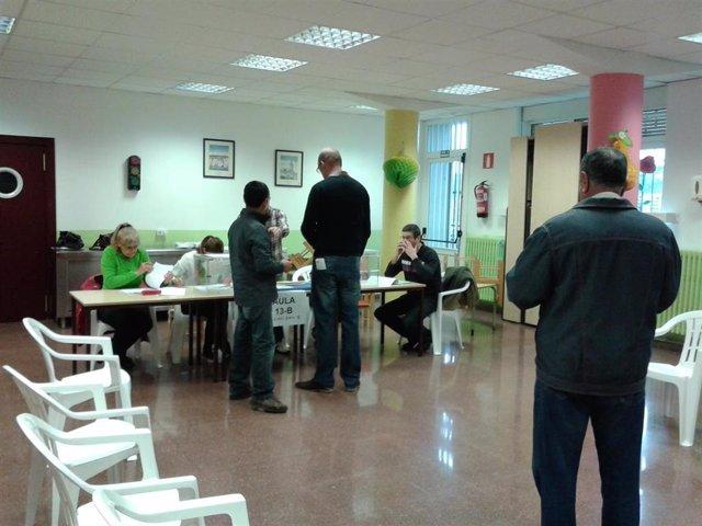 Colegio electoral, Barakaldo.