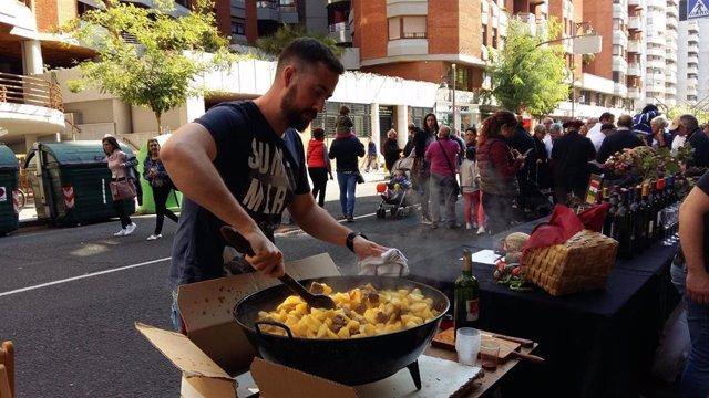 Concurso de calderetas de San Mateo en Logroño