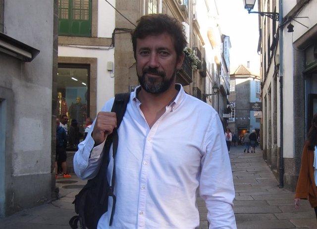 El secretario general de Podemos en Galicia, Antón Gómez-Reino