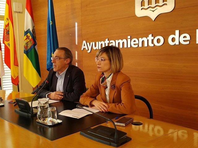 Los concejales 'populares' en el Ayuntamiento de Logroño Penélope Ramírez y Ángel Sáinz piden mayor dialogo al Equipo de Gobierno