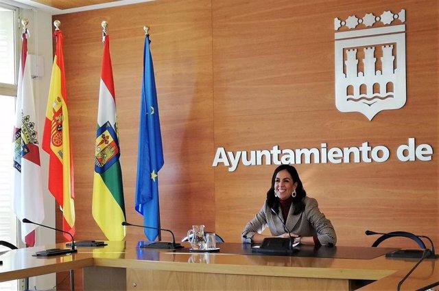 La concejala de Economía, Hacienda, Comercio y Turismo de Logroño, Esmeralda Campos.