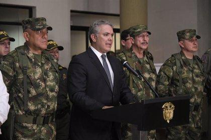 """Colombia.- Duque atribuye el """"paro armado"""" del ELN a un """"acto de desesperación"""" y promete responder con """"toda la fuerza"""""""