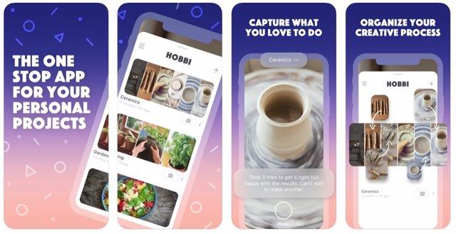 Hobbi, la nueva 'app' lanzada por Facebook similar a Pinterest