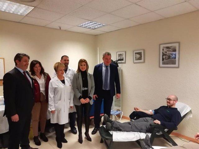 Colecta de sangre organizado por el Centro de Transfusión Sanguínea de Jaén