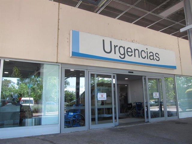 Servicio de urgencias del hospital San Pedro de Logroño