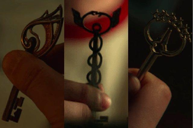 Las llaves de Locke and Key