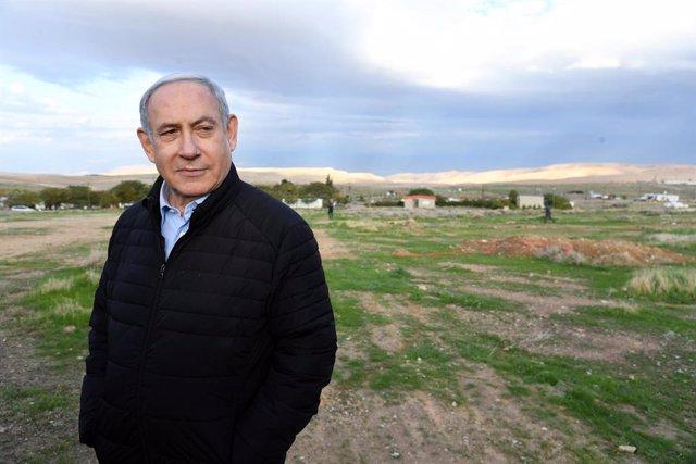 O.Próximo.- Netanyahu asegura que el plan de paz de EEUU representa la culminaci
