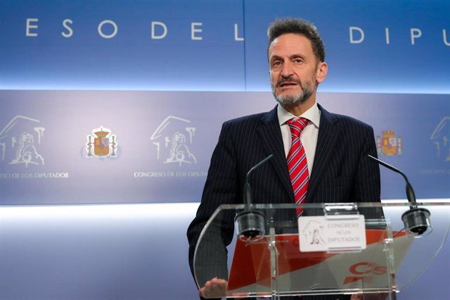 El portavoz adjunto de Ciudadanos en el Congreso, Edmundo Bal.