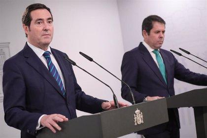 CEOE y Cepyme abandonan una reunión sobre reforma laboral por su malestar con Trabajo