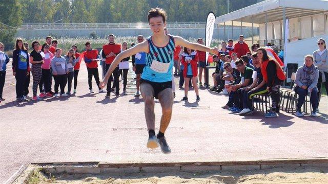 Participante en Special Olympics Andalucía