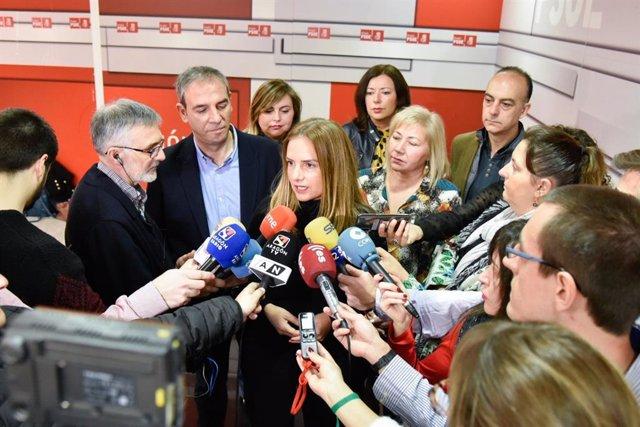 La Diputada Del PSOE En El Congreso Por Zaragoza, Susana Sumelzo