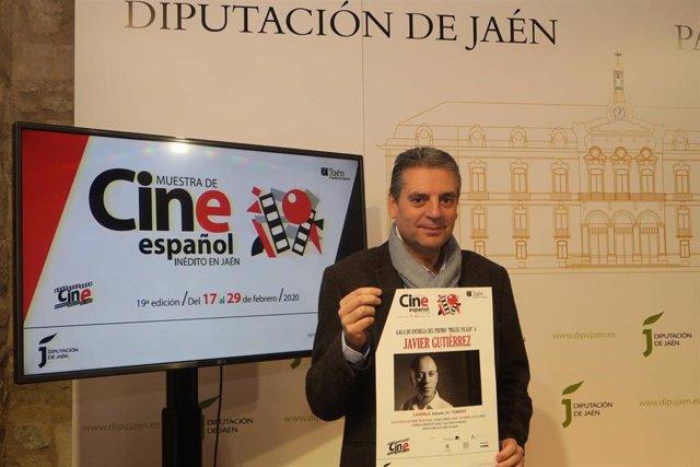 El diputado de Cultura y Deportes, Ángel Vera.