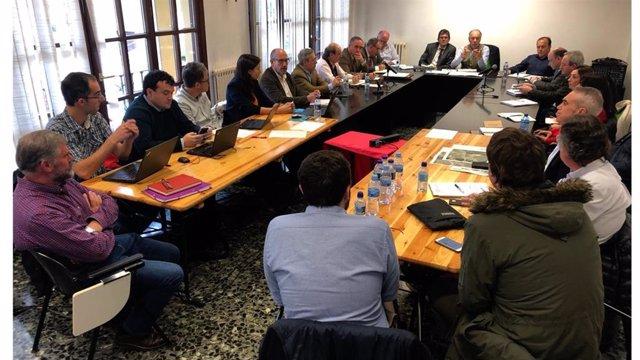 Mesa técnica de coordinación y seguimiento sobre el derrumbe del vertedero de Zaldibar