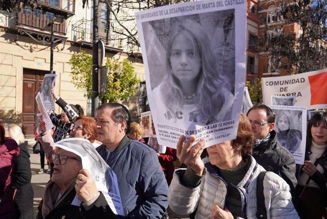 El juez reabre el caso de Marta del Castillo para investigar las pistas aportada