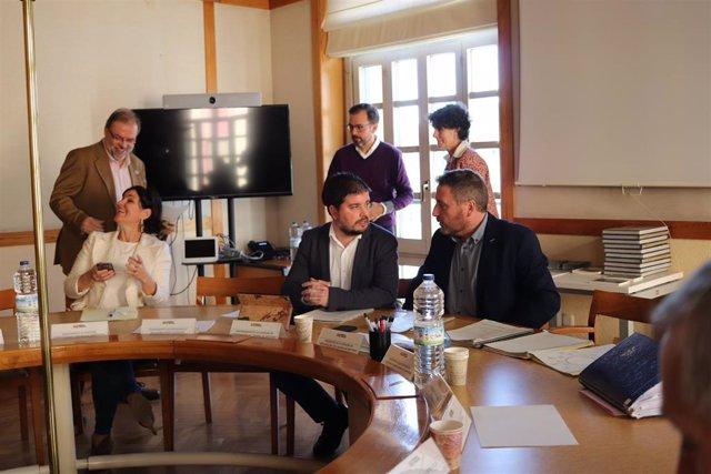 Reunión de constitución de la Comisión de Coordinación del Camino de Santiago-Camino Francés a su paso por Aragón.