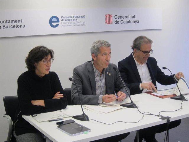 Mercè Massa, Josep Gonzàlez-Cambray y Joan Subirats, Consorci d'Educació