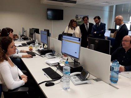 La Junta mantiene a los trabajadores del servicio de cita previa del SAE que se sigue realizando en Linares (Jaén)