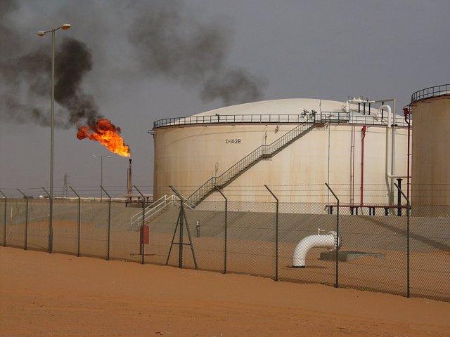 Yacimiento de El Saharara, en Libia