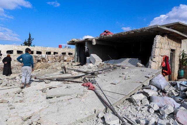Siria.- Mueren ocho civiles, entre ellos tres niños, en ataques achacados a Rusi