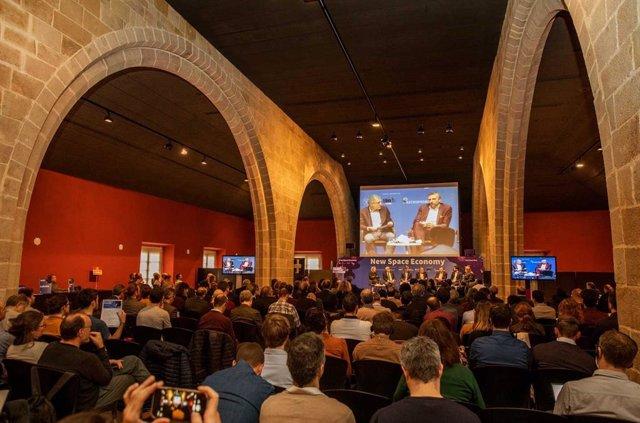 Jornada New Space Economy de la Cambra de Comerç de Barcelona.
