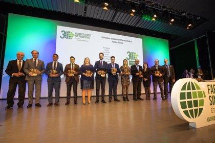 Bial recibe el II Premio Solidaridad Farmacéutica por su colaboración con Farmacéuticos Sin Fronteras