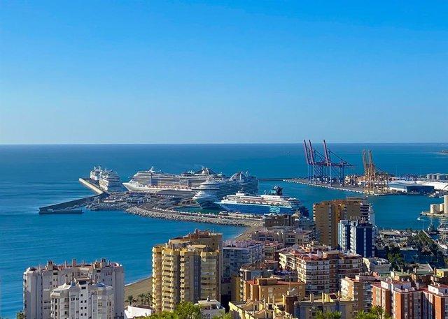 Málaga promociona en EEUU el puerto y la ciudad como destino de cruceros