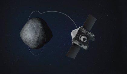 Algo no fue bien en el último paso sobre el asteroide Bennu