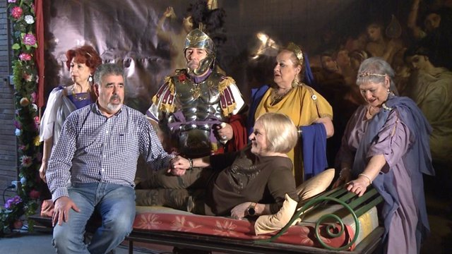 Actividad 'Enamórate en Augusta Emérita' con la que el Museo Nacional de Arte Romano de Mérida celebra San Valentín
