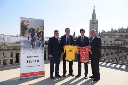 """Sevilla se """"muestra al mundo"""" como salida de la segunda etapa de la Vuelta Ciclista a Andalucía"""