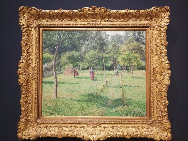 Pieza de Pissarro de la Colección Carmen Thyssen-Bornemisza