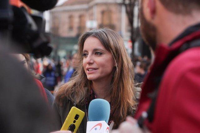 La Concejal de Cultura, Turismo y Deporte de Madrid, Andrea Levy. Imagen de archivo