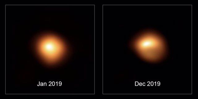 Oscurecimiento de la estrella Betelgeuse