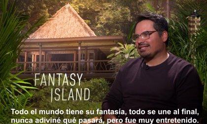 Lucy Hale y Michael Peña protagonizan Fantasy Island, la isla que saca a flote nuestros deseos más profundos