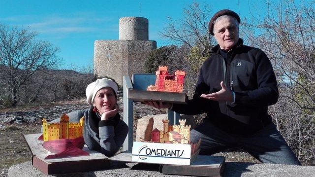 Comediants a Santa Maria de Mur