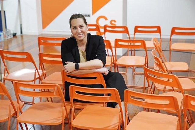 La portavoz de Ciudadanos en Galicia, Beatriz Pino, posa tras una entrevista con Europa Press en la sede de Ciudadanos en Santiago de Compostela/Galicia (España) a 30 de enero de 2020.