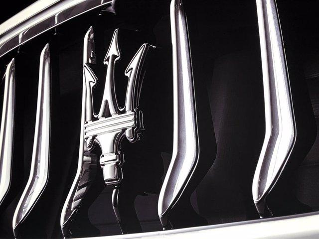 Logo de Maserati.