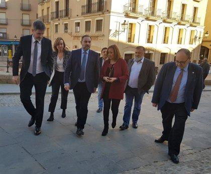 """Ábalos dice que la rehabilitación de la Torre Gótica de Alcañiz muestra que la cultura es un factor de """"cohesión"""""""