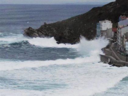 Activada para este sábado la alerta naranja por temporal costero en A Coruña
