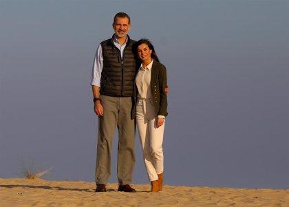 La Reina Letizia y el Rey Felipe nos dejan su foto más romántica en San Valentín