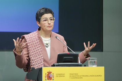 """González Laya dice que """"las desigualdades traen populismo"""" y que son """"resultado de opciones políticas"""""""